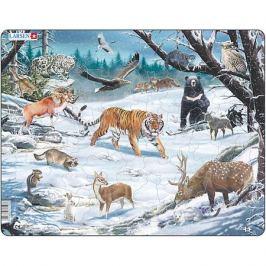 Larsen Пазл Larsen Животные Сибири и Дальнего Востока