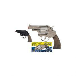Gonher Револьвер Gonher Police 12 пистонов, черный