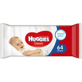 HUGGIES Детские влажные салфетки Huggies Classic, 64шт.