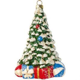 Новогодняя сказка Елочное украшение Новогодняя сказка Новогодняя елочка, 12,5 см