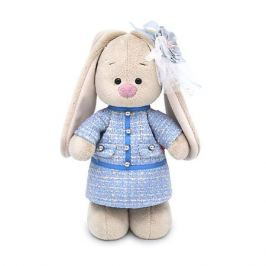 Budi Basa Мягкая игрушка Budi Basa Зайка Ми в голубом платье в клетку, 25 см