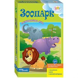 Степ Пазл Развивающая игра STEP puzzle Baby Step, Зоопарк