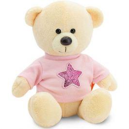 Orange Мягкая игрушка Orange Медведь Топтыжкин жёлтый: Звезда, 25 см