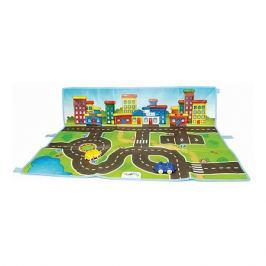 Viking Toys Коврик-сумка Viking Toys Viking City с машинками, 90х70 см