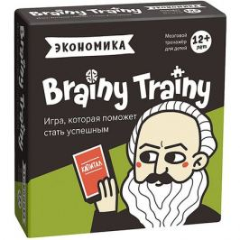 Brainy Trainy Игра-головоломка Brainy Trainy Экономика