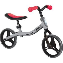 Globber Беговел Globber Go Bike, серо-красный