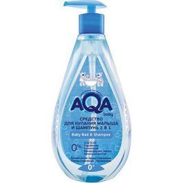 AQA baby Средство для купания малыша и шампунь AQA Baby, 400 мл.