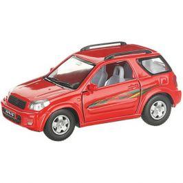 Serinity Toys Коллекционная машинка Serinity Toys Toyota RAV4, красная