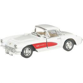 Serinity Toys Коллекционная машинка Serinity Toys Chevrolet Corvette, белая