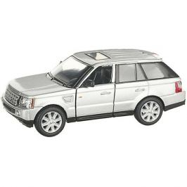 Serinity Toys Коллекционная машинка Serinity Toys Range Rover, серебристая