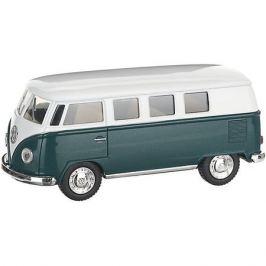 Serinity Toys Металлический автобус Serinity Toys Volkswagen Classical, зелёный