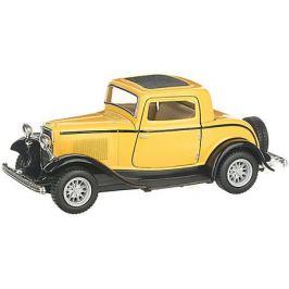 Serinity Toys Коллекционная машинка Serinity Toys Ford Купе, жёлтая