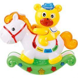 Наша Игрушка Медвежонок и лошадка Наша игрушка с проектором
