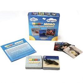 Нескучные игры Карточная игра Нескучные игры Ми-Ми-Мемо Морские животные