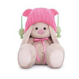 Budi Basa Мягкая игрушка Budi Basa Зайка Ми в розовой шапочке с помпонами, 23 см
