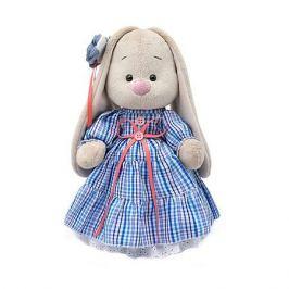 Budi Basa Мягкая игрушка Budi Basa Зайка Ми в платье в стиле Кантри, 32 см