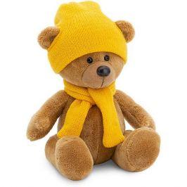 Orange Мягкая игрушка Orange Медведь Топтыжкин : в шапке и шарфе, 17 см