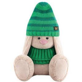 Budi Basa Мягкая игрушка Budi Basa Зайка Ми в зеленой шапке и снуде, 23 см