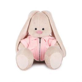 Budi Basa Мягкая игрушка Budi Basa Зайка Ми в розовой меховой курточке, 18 см