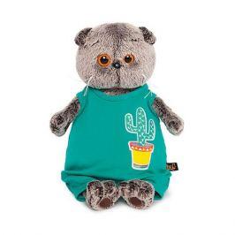 Budi Basa Одежда для мягкой игрушки Budi Basa Комбинезон изумрудный с кактусом, 30 см