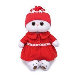 Budi Basa Мягкая игрушка Budi Basa Кошечка Ли-Ли в красном пальто, 24 см