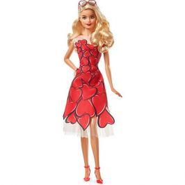 Mattel Коллекционная кукла Barbie в красном платье