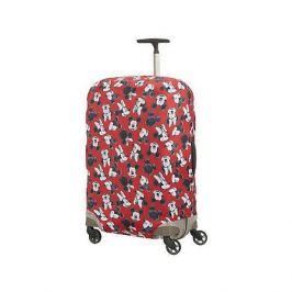 Samsonite Чехол для чемодана Samsonite Микки, Минни, красный 69-75 см