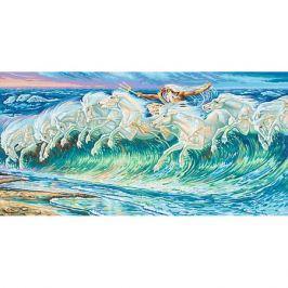 Schipper Картина по номерам Schipper Вольтер Крейн «Лошади Нептуна», 40х80 см