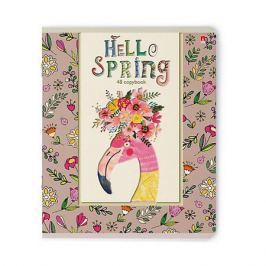 Альт Тетрадь Альт Hello Spring, 48 листов, клетка, 5 шт