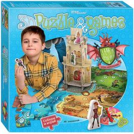 Степ Пазл Настольная игра STEP puzzle