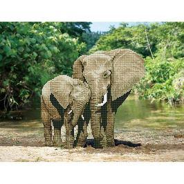 Фрея Кристальная мозаика Фрея, Слоны