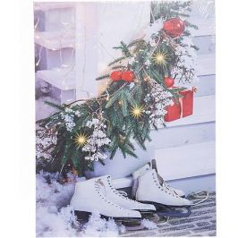 House of Seasons Рождественская картина House of seasons белая