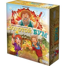 Hobby World Настольная игра Hobby World Золотой бум