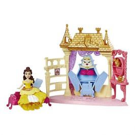 Hasbro Игровой набор Disney Princess Royal Clips, Спальня Белль