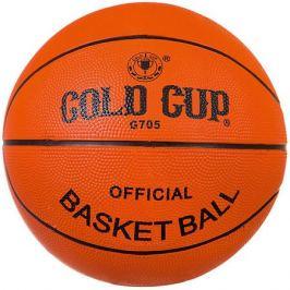 - Мяч баскетбольный Gold Cup №5