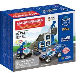 MAGFORMERS Магнитный конструктор Magformers Amazing Police Set