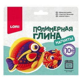 LORI Полимерная глина LORI Магниты «Красочные рыбки»