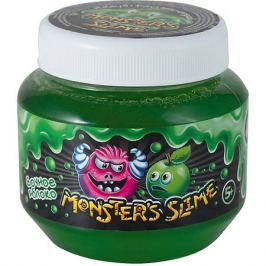 KiKi Слайм классический Monster's Slime Зеленый с ароматом сочного яблока, 250 мл