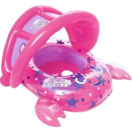 Bestway Лодочка для плавания Bestway Крабик, розовая