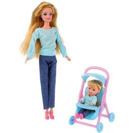 Карапуз Кукла София и Алекс С дочерью на прогулке