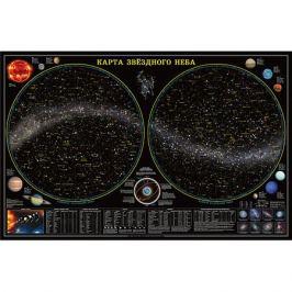 ГеоДом Карта настенная Геодом «Звездное небо/Планеты»