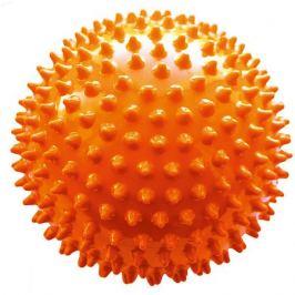 Малышок Мяч ёжик оранжевый, 18 см, МалышОК