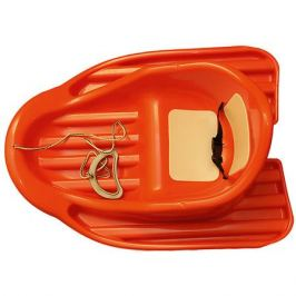 Пластик Санки Малыш, оранжевые