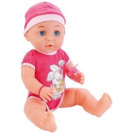 Карапуз Интерактивная кукла-пупс Карапуз 40 см, 3 функции