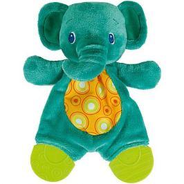 Bright Starts Развивающая игрушка с прорезывателями Bright Starts «Самый мягкий друг», Слонёнок