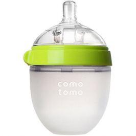 Comotomo Бутылочка для кормления Comotomo Natural Feel, 150 мл., зелёный