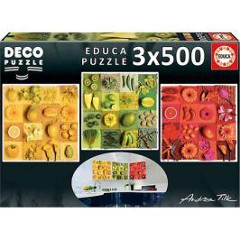 Educa Пазл 3 в 1 Educa Три цвета, 500 элементов