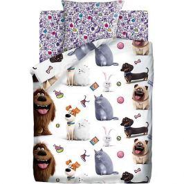Непоседа Детское постельное белье 1,5 сп Непоседа «Тайная жизнь домашних животных»