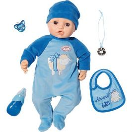Zapf Creation Многофункциональная кукла-мальчик Zapf Creation Baby Annabell, 43 см