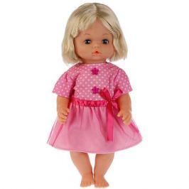 Карапуз Интерактивная кукла Карапуз Анфиса с набором одежды, 36 см, озвученная